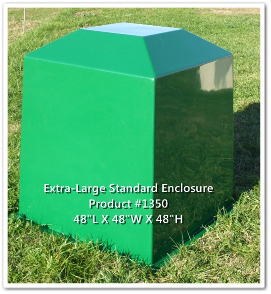Delightful Fiberglass Well House 9 Enduro