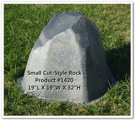 Stock Fiberglass Rock